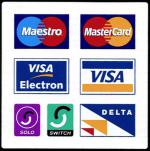 Payment Accepted by Credit card