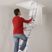Abru 3 Section Loft Ladder install